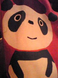 お気に入りのパンダ