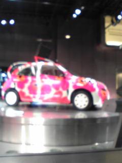 マリメッコの車かわいい!