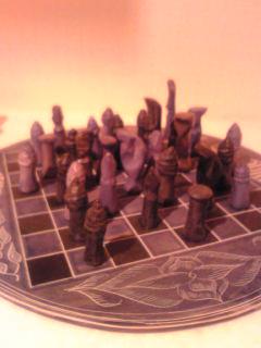 ケニアのチェス盤