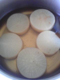 大根の塩煮