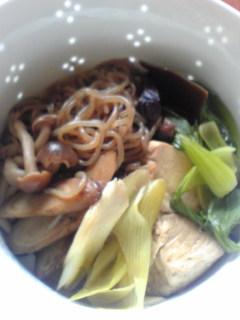 お豆腐と野菜のすき焼き風