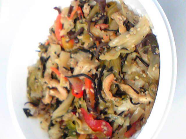 リマ新宿オープン 玄米いろんな野菜が食べれるどん